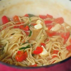 Easy One Pot Spaghetti In Under 20 Minutes.