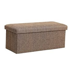 [Toy Storage Ideas] InSassy Folding Storage Ottoman Bench Foot Rest Toy Box Hope Chest Linen-like Fabric - Medium - Brown -- Continue to the product at the image link. (This is an affiliate link) Luxury Home Furniture, Outdoor Furniture, Outdoor Decor, Furniture Ideas, Homemade Ottoman, Living Room Toy Storage, Cheap Storage, Storage Ideas, Ottoman Furniture