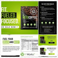 Good morning!! It's International Coffee Day!! What better day to start your day than with It Works NEW #Keto Coffee? We are definitely game changers!!!!!! Many have heard about Keto diets its been a buzzword in the fitness world for a while. Well when you are part of a Company that supports healthy living fitness enhancement ... overall health and wellness why not introduce a product line that benefits us all?? And Keto has some AMAZING health benefits! We will be sharing more information…