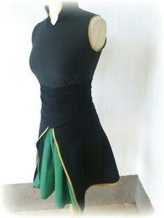 Lady Loki costume top