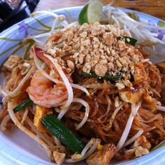 Shrimp Pad Thai (Opal Thai Food)