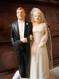 vintage wedding cake toppers bride and groom vintage 1950 s wedding cake topper groom bell 8307
