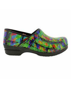 Sanita Green Professional Tally Smart Step Leather Clog - Women | zulily