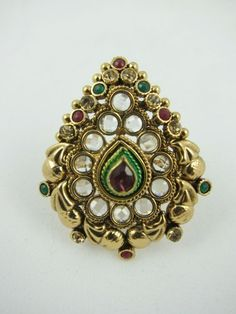 how to wear panna ring in hindi