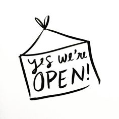 We're Open for Business!!! — The Lovely Forest