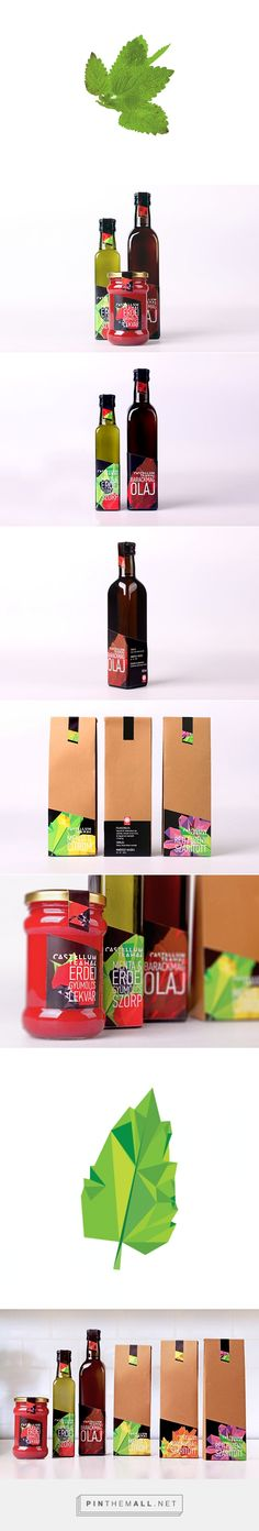 Castellum Teahouse on Behance by Gergo Balla curated by Packaging Diva PD. Fun colorful packaging.