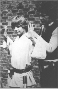"""Going somewhere, Luke?"" - 'Star Wars' Behind-The-Scenes"