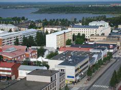 Kemin kaupunki - City of Kemi Pretty Little, Finland, Seaside, Mansions, House Styles, City, Home Decor, Decoration Home, Manor Houses