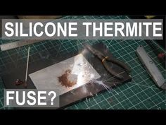 Silicone Microfuse - Light Thermite with ease! Adding Iron to the Periodic Table - ElementalMaker Homemade Fireworks, How To Make Fireworks, 4th Of July Fireworks, Survival Shelter, Survival Prepping, Survival Skills, Survival Gear, Diy Rocket, Homemade Weapons