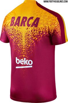 The new Barcelona 2016 Pre-Match and Training Shirts by Nike introduce  striking looks for the Catalans f94b9de6a