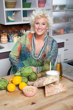 chef+anne+burrell | Food Network chef Anne Burrell shares Valentine's Day recipes and ...