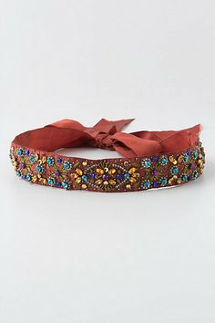 Crystallized Citrine Belt #anthropologie $48