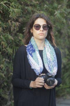 Camera Scarf The Greta by CameraScarf on Etsy