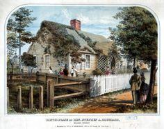 Birthplace of Hon. Stephen A. Douglass in Brandon, Vermont