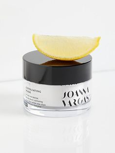 Joanna Vargas Exfoliating Mask at Free People, Black, One Size Exfoliating Scrub, Exfoliating Products, Skin Toner, Oily Skin, Natural Exfoliant, Easy Face Masks, How To Exfoliate Skin, Homemade Facials, Eye Makeup Tips