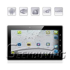 Freelander PD20 Talent 7 inch android4.0 tablet pc five point capacitive touch screen GPS 1GB/8GB $112.49