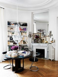 French Entryway With