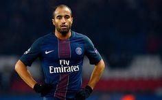 Descargar fondos de pantalla Lucas Moura, el fútbol, el PSG, jugadores de futbol, Ligue 1, el París Saint-Germain