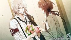 Kei Okazaki and Hoshino Ichika 【Collar×Malice】 Manga Love, Anime Love, Manga Art, Anime Art, Under The Moon, Drama, Diabolik Lovers, Couple Art, Romantic Couples