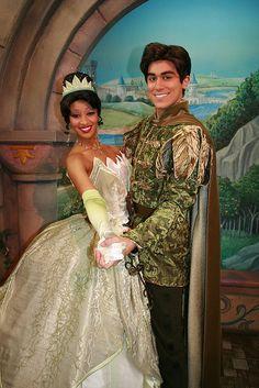 Princesa Tiana e Prince Naveen! #Disney