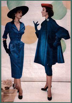 1951  Hats:  Mr. John  Shoes:  Palter De Liso  Gloves:  Barra