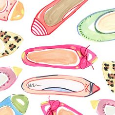 Candy colored flats.....