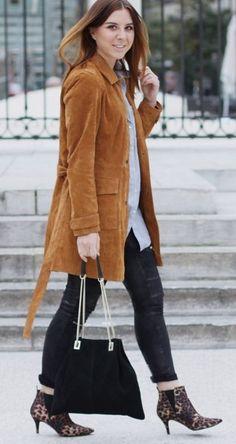 Suede coat outfit, fashion blog, fashion blog #suede
