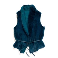 Reversible mink fur vest that is an original, very refined interpretation of the classic men's waistcoat. Crafted using complex techniques: the fur is sheared and shaved and the leather is sueded, meaning it can be worn on both sides.
