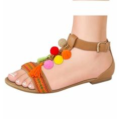 Sandalia Dama Pink 164042 Sn1
