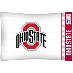 Ohio State Buckeyes Team Logo Pillowcase