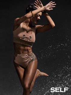 Teyana Taylor talks about Fade 2 Fit, what she likes best about her body, and how her daughter's fearlessness inspires her.
