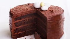 suklaamoussetäytekakku Easter Recipes, Chocolate Recipes, Tiramisu, Deserts, Food And Drink, Pie, Cupcakes, Vegetarian, Sweets