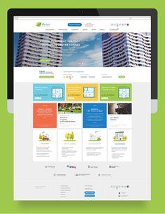 Дизайн сайта жилого комплекса «Оазис» - Студия МартДизайн