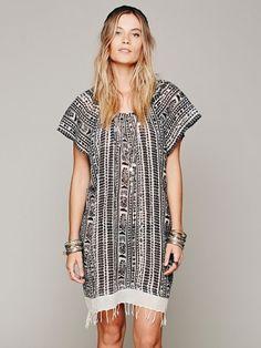 Free People Kanu Fringe Dress