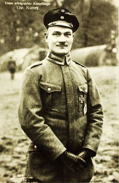 Fritz Rumey (March 3, 1891 – September 27, 1918) Pour le Mérite, Golden Military Merit Cross was a German fighter pilot in the First World War, credited with 45 victories.