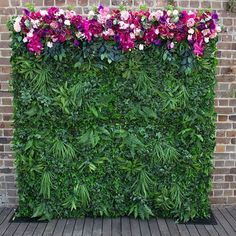 Create the perfect backdrop to your event with help from Sharebooth. We offer stunning flower walls at affordable prices. Contact us today. Wall Backdrops, Photo Booth Backdrop, Photo Booths, Flower Backdrop, Flower Wall, Passion Flower, Greenery, Photo Wall, Create