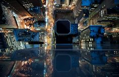 Intersection - NYC at Night. Fantastic shots by Navid Baraty of his photographic series 'Intersection'. The series features photographs of New York City Nyc At Night, Night City, New York City, New York Street, Monuments, Cool Pictures, Cool Photos, City From Above, New York Pictures
