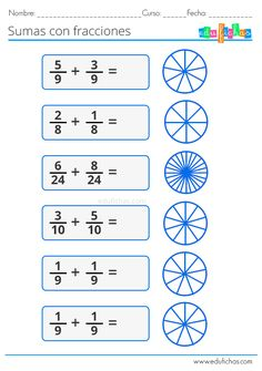 Fractions for Children Math Fractions Worksheets, 3rd Grade Math Worksheets, Act Math, Math Charts, Math Poster, Math Task Cards, Math Practices, Math For Kids, Math Lessons