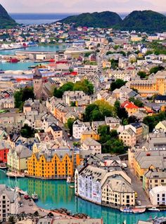 How To Pick A Vacation Destination That's Awesome Places Around The World, Oh The Places You'll Go, Places To Travel, Around The Worlds, Places To Visit, Alesund, Vacation Destinations, Dream Vacations, Oslo