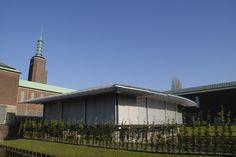 Museum Rotterdam, Nederland.   Buitenjaloezieen in 80 mm uitvoering