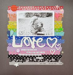 Love layout by Jen Chapin for SCT Magazine