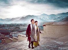 tibet couple photo