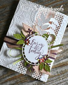 Seeing Ink Spots: Wonderful Romance Stampin' Up! handmade greeting cards, home and party decor, scrapbooking, digital photo editing and designing, and gifts. Handmade Birthday Cards, Greeting Cards Handmade, Handmade Bookmarks, Romance, Stampin Up Catalog, Embossed Cards, Stamping Up Cards, Mothers Day Cards, Pretty Cards