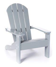 KidKraft Gray Adirondack Chair