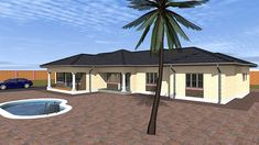 Save time and money with our Budget House Plans at discounted prices. Get a FREE House Plan Floor Layout design for your property. Beautiful House Plans, Beautiful Homes, Free House Plans, Architectural Services, Floor Layout, Home Budget, Facade House, Zimbabwe, Home Free