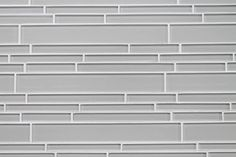 Country Cottage Light Taupe Random Strip Glass Mosaic Tiles - contemporary - kitchen tile - by Rocky Point Tile