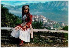 Kostum femëror i Mirditës. Costume féminin de la région des Mirdites. Woman's costume from Mirdita area, Albania. by Only Tradition, via Flickr