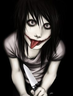 Jeff The Killer by Bakuhatsu-Dei.deviantart.com on @DeviantArt