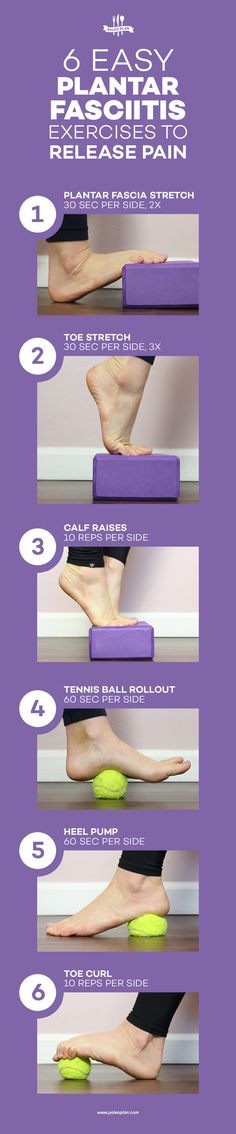 Soothe your sore, achy feet with these simple stretches. Soothe your sore, achy feet with these simple stretches. Plantar Fasciitis Stretches, Plantar Fasciitis Exercises, Plantar Fasciitis Treatment, Foot Exercises, Foot Pain Relief, Heel Pain, Calf Muscles, Feet Care, Stress