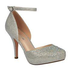 414e85b8ad7c MVE Shoes Womens Stylish Sparkle Closed Toe Ankle Strap D... https